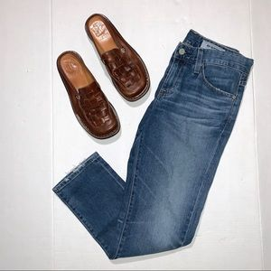 AG Adriano Goldschmied Medium Wash Ankle Jeans